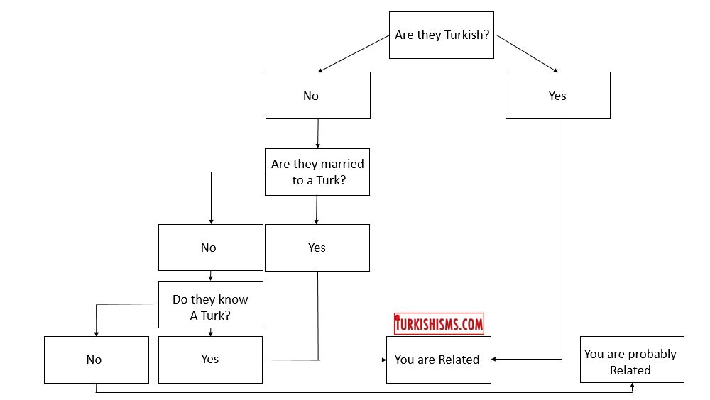 Are you related to a turk