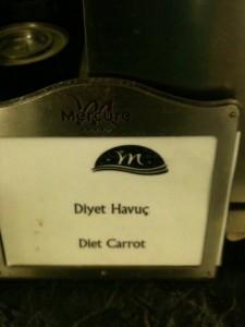 Diet Carrot