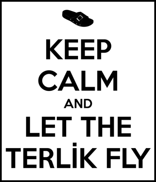 Turkish meme, Nene, Terlik