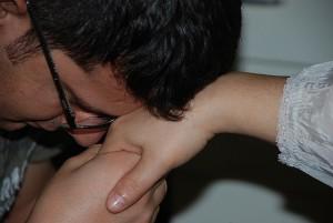 Turkish Hand Kiss