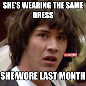 Turkish Balo Dress meme